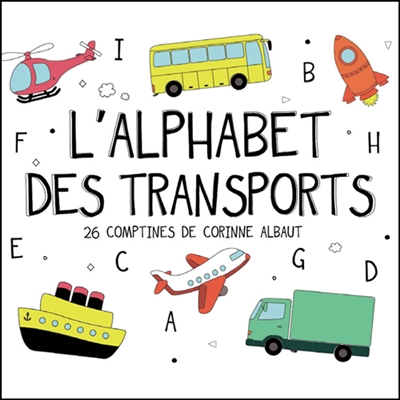 CD L'ALPHABET DES TRANSPORTS